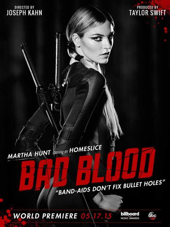 Thug Girls Wallpaper Taylor Swift S Bad Blood Music Video And Character Posters
