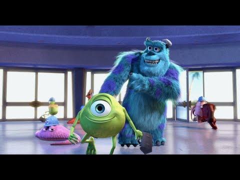 Monster University Wallpaper Hd Monsters Inc 3d 2012 Movie Trailer Release Date Blu