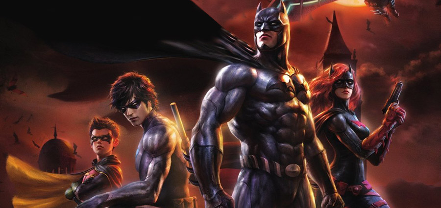 S Animation Wallpaper Batman Bad Blood Trailer Blu Ray Dvd Release Date