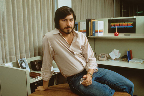 Steve-Jobs-cubicle-vintage-photo