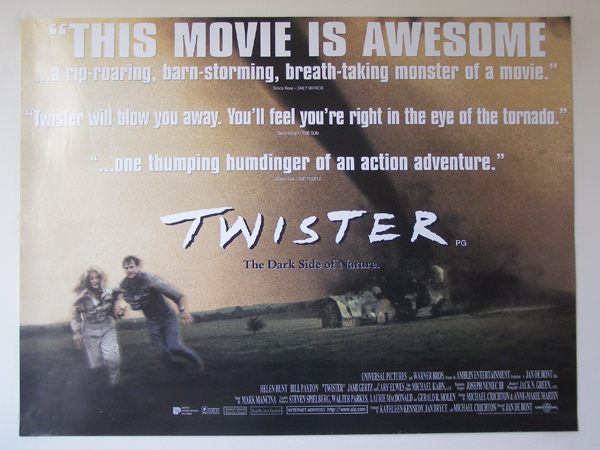Image result for Twister  uk movie poster