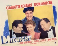 Poster Midnight (1939)