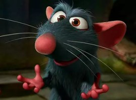 Remy in Pixar's Ratatouille