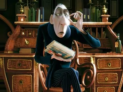 Anton Ego in Ratatouille