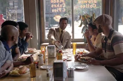 Denzel Washington, Chiwitel Ejiofor en Common in American Gangster