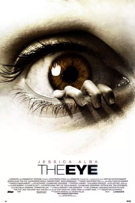 Poster van The Eye met Jessica Alba