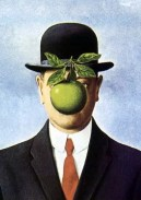 René Magritte's The Son of Man (Le fils de l'homme)