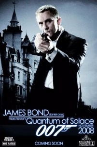 Fake Poster van James Bond 22 Quantum of Solace
