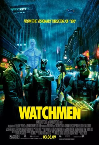 Definitieve Watchmen poster