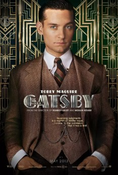 The Great Gatsby - Tobey Maguire als Nick Carraway poster
