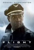 Denzel Washington op de Flight poster