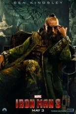 Iron Man 3 poster - Ben Kingsley als The Mandarin