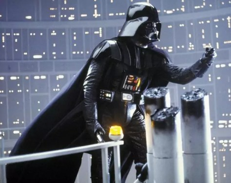 Darth Vader in Star Wars The Empire Strikes Back