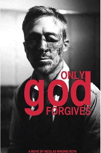 Only God Forgives poster met Ryan Gosling