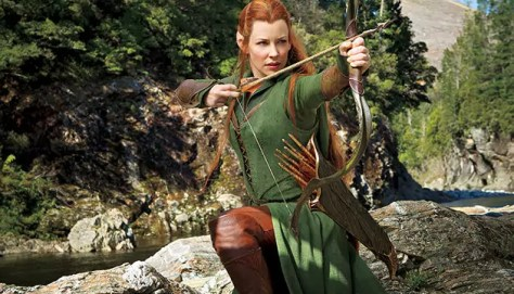 evangeline lilly in the desolation of smaug