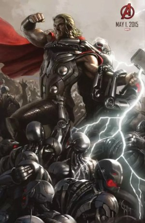 The Avengers 2: Age of Ultron – Thor concept art poster