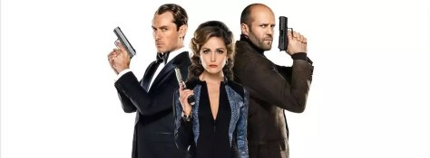 Jude Law, Rose Byrne en Jason Statham in Spy