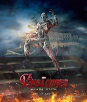 Spaanse poster van The Avengers 2: Age of Ultron met Ultron