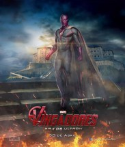 Spaanse poster van The Avengers 2: Age of Ultron met Vision