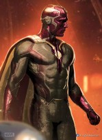 Vision promo art van The Avengers 2: Age of Ultron