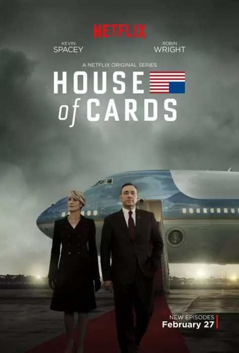 House of Cards Seizoen 3 poster