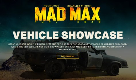 Mad Max Fury: Road Vehicle Showcase