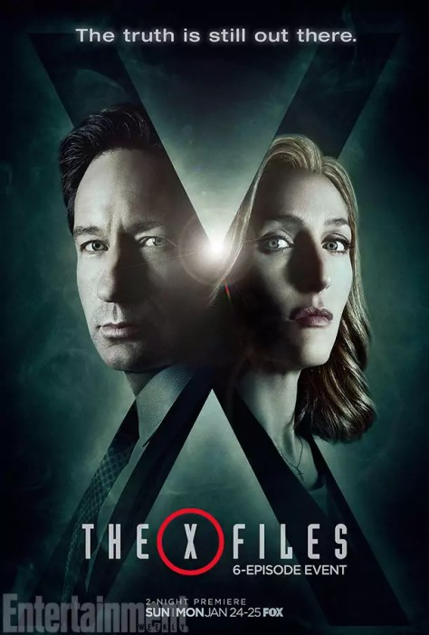 Eerste X-Files Revival poster