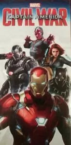 captain america civil war team Iron Man banner