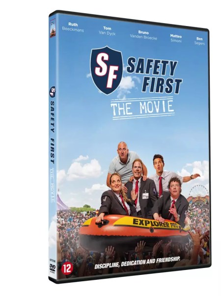 Safety First Movie DVD-cover