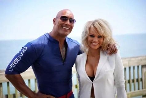 Pamela Anderson vervoegde de cast van Baywatch: The Movie