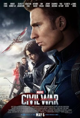 Laatste Captain America Civil War posters - TeamCap