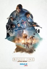 Creatieve Rogue One van Star Wars poster