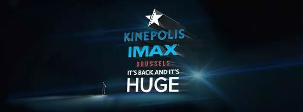 Kinepolis heropent IMAX in Brussel