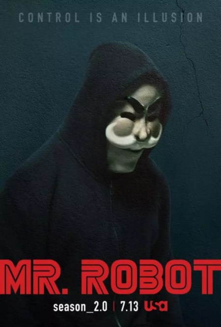 Mr Robot S2 Control is an illusion poster