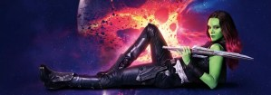 Guardians of the Galaxy 2 banners - Gamora