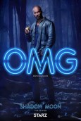 American Gods karakterposters Ricky Whittle als Shadow Moon