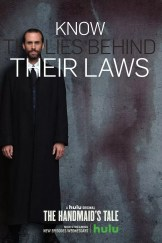 Handmaidens Tale karakterposters - Know Lies Behind their Laws met Joseph Fiennes