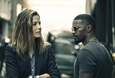 Jamie Foxx & Michelle Monaghan in Sleepless
