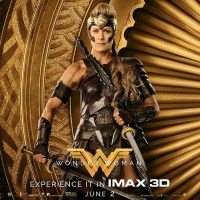 Wonder Woman IMAX posters Robin Wright