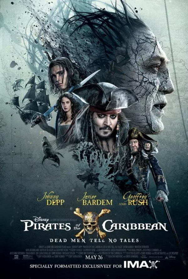 Pirates Of The Caribbean 5: Salazar's Revenge IMAX poster