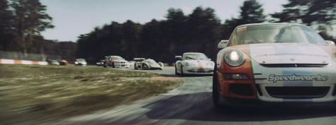 De racewagens uit Le Fidèle trailer of the Racer and the Jailbird trailer