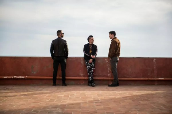 Alessandro Borghi, Giacomo Ferrara en Eduardo Valdarnini in Suburra S2