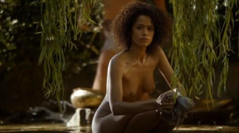 Nathalie Emmanuel naakt in Game of Thrones