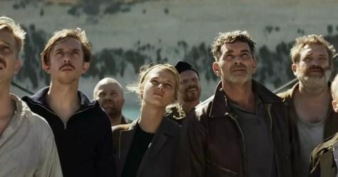 De cast van de Vlaamse duikbotenfilm Torpedo