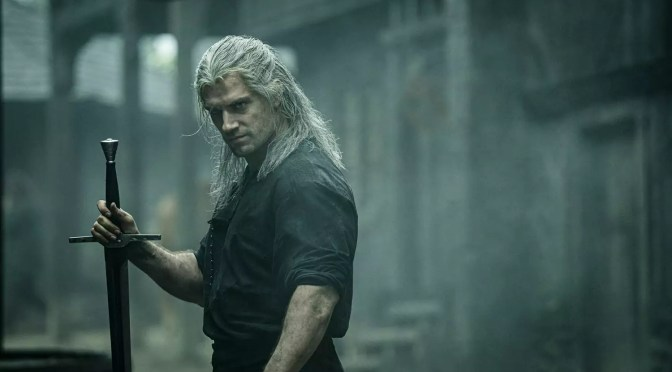 The Witcher Netflix met Henry Cavill
