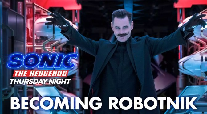 Jim Carrey wordt Dr. Robotnik in nieuwe Sonic the Hedgehog featurette