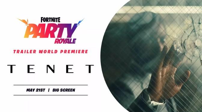 Tenet trailer #3 dankzij Fortnite