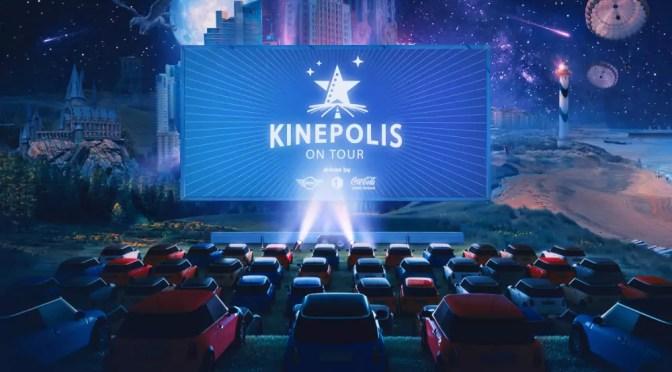 Kinepolis On Tour klein lichtpunt voor de filmindustrie