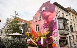 Disney Plus graffiti in Gent