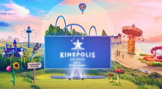 Kinepolis on Tour komt terug tijdens de paasvakantie 2021